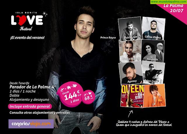 CanariasViaja.com amplía su oferta de paquetes para acudir al Isla BONITA Love Festival