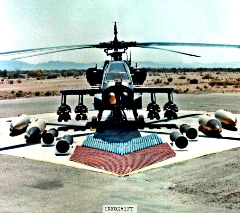 apache helicopter weapons