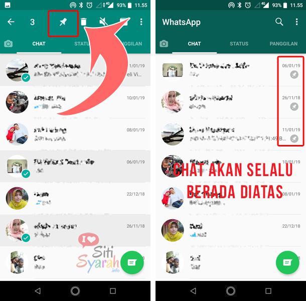 manfaat fitur sematkan pesan di whatsapp