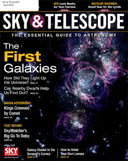 Cover for Sky & Telescope.