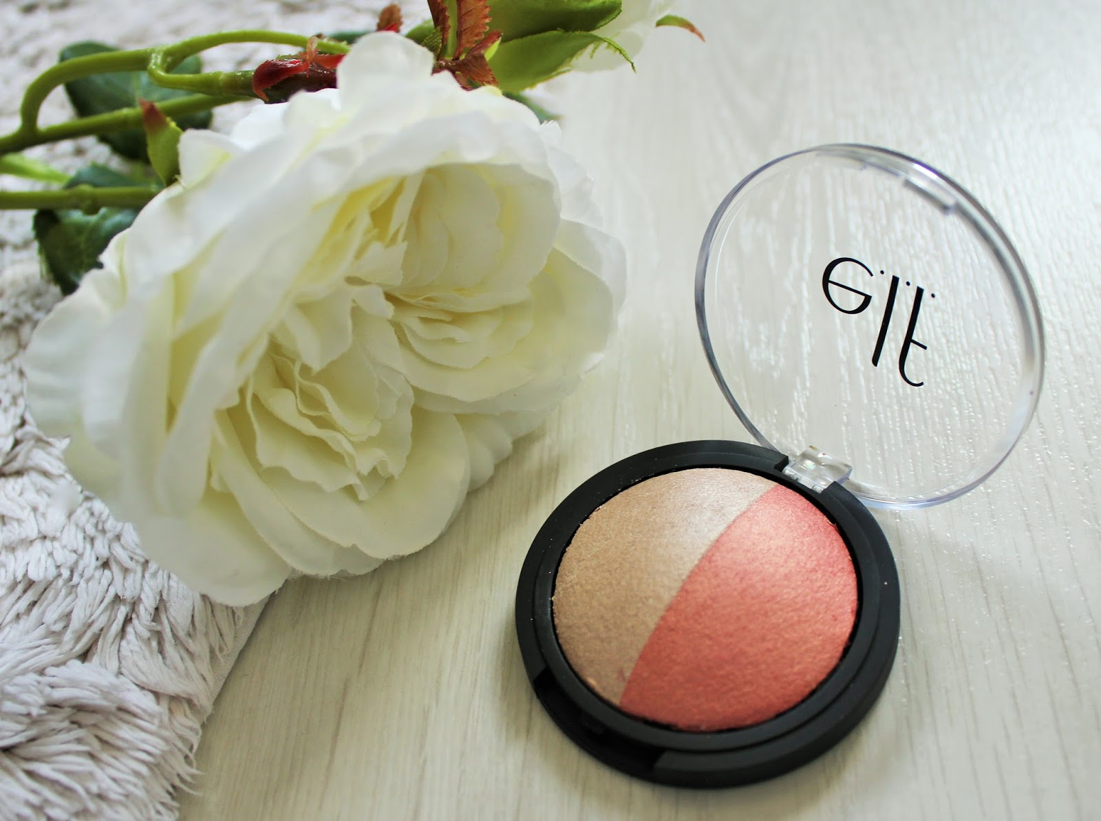 E.l.f. Cosmetics 9 - Baked Blush And Highlight In Rose Gold