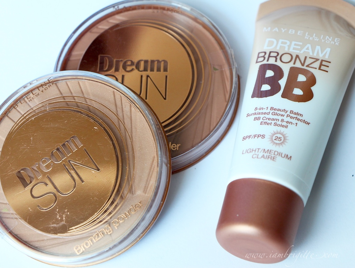 Iambrigitte Look Like A Sunkissed Goddess All Year Round With Maybelline Fresh Mat Bb Cushion 02 Light Dream Bronze Glow Perfector And Sun Bronzing Powders