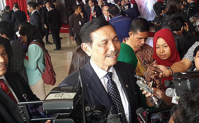 Luhut: Orang Bilang Utang Indonesia Sangat Sedikit