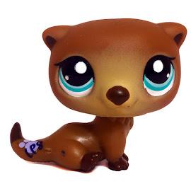 littlest pet shop collectible pets otter 1609 pet lps