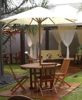 Jual Meja Payung Taman Murah Jati Jepara