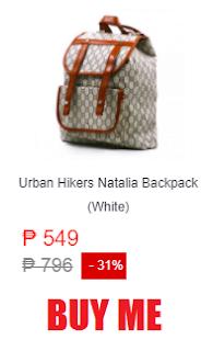 Urban Hikers Natalia Backpack