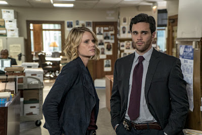 Joelle Carter and Ryan James Hatanaka in Chicago Justice