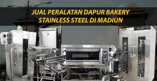 Jual Mesin Bakery di Madiun (Peralatan Dapur Bakery Murah)