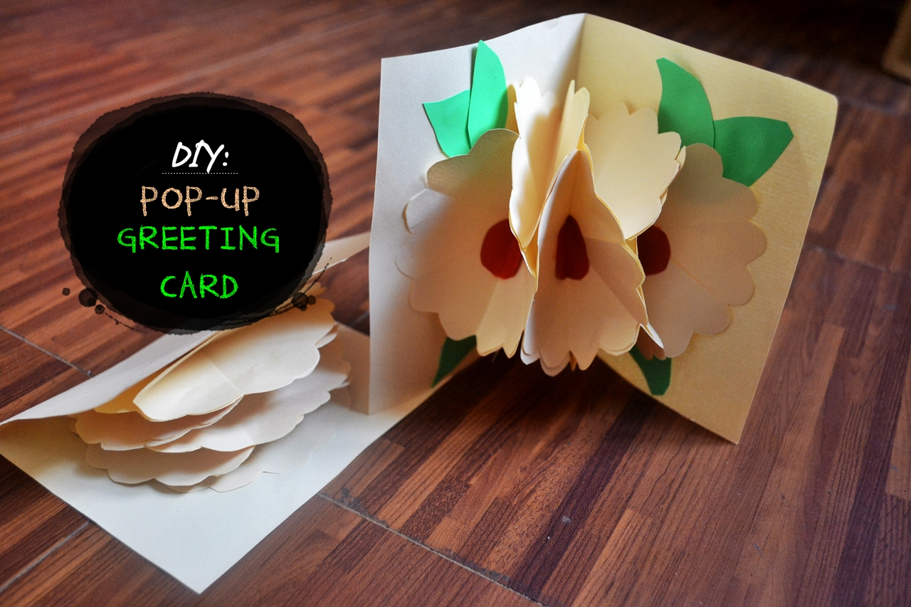 Diy Pop Up Greeting Card With Video Ranneveryday