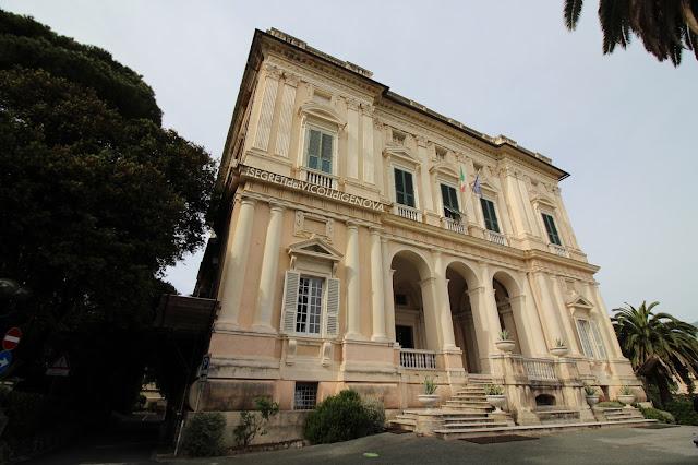 Villa Spinola Di San Pietro Giardino