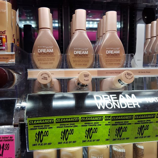 Maybelline Dream Wonder Fluid Touch foundation | Almost Posh