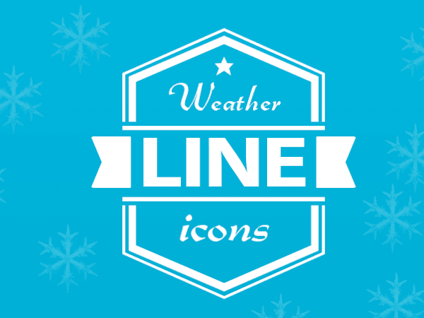 Download Weather Line Icons Free