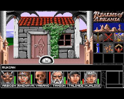 Pantallazo videojuego Realms of Arkania - Blade of Destiny