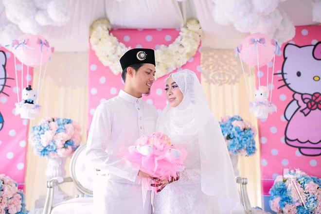 Pelamin Kahwin Tema Hello Kitty Blog Sihatimerahjambu