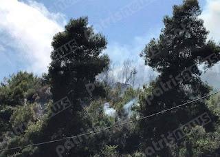 Μεγάλη πυρκαγιά ξύπνησε μνήμες… στην Αρήνη Ζαχάρως