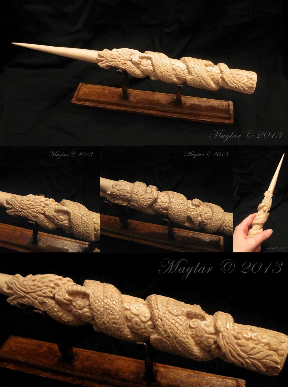 Propnomicon Dragon Wand