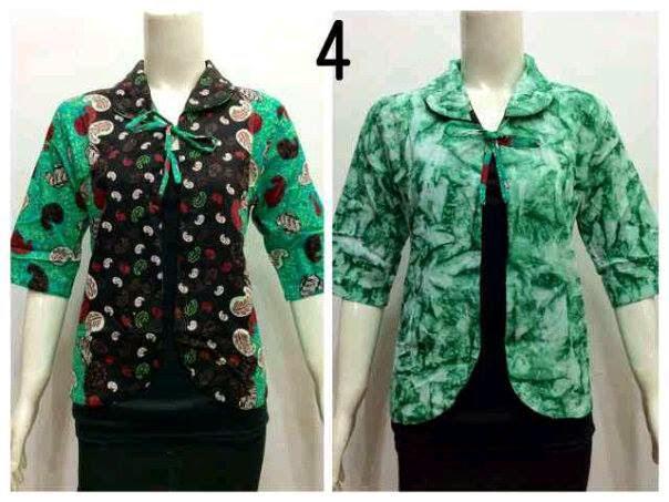 Model Baju Bolero Batik Terbaru Baju Batik Modern Dan