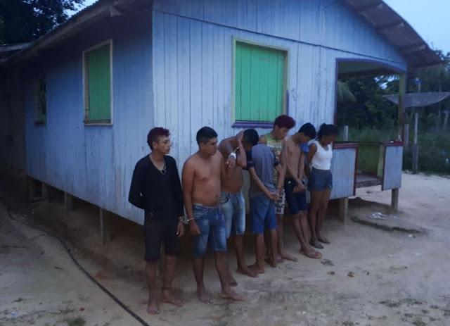 Jovem é preso com revólver de fabricação italiana em zona rural de Cruzeiro do Sul