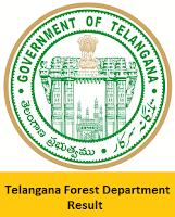 Telangana Forest Department Result