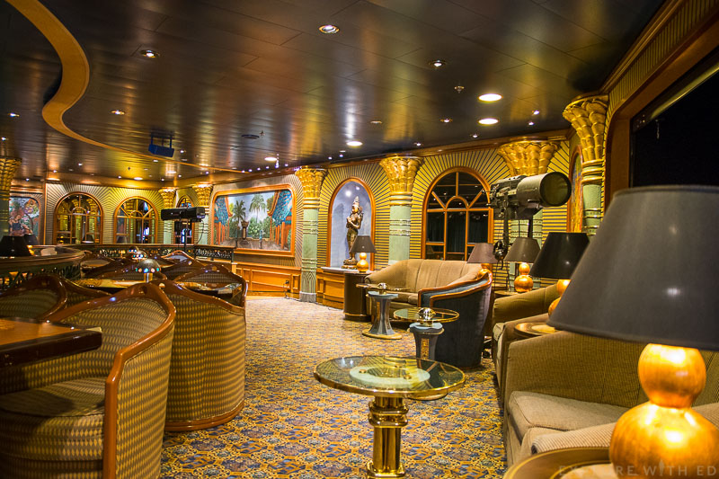 The Explorers Lounge Emerald Princess