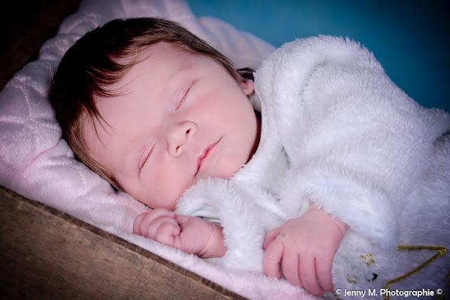 portrait bébé en studio
