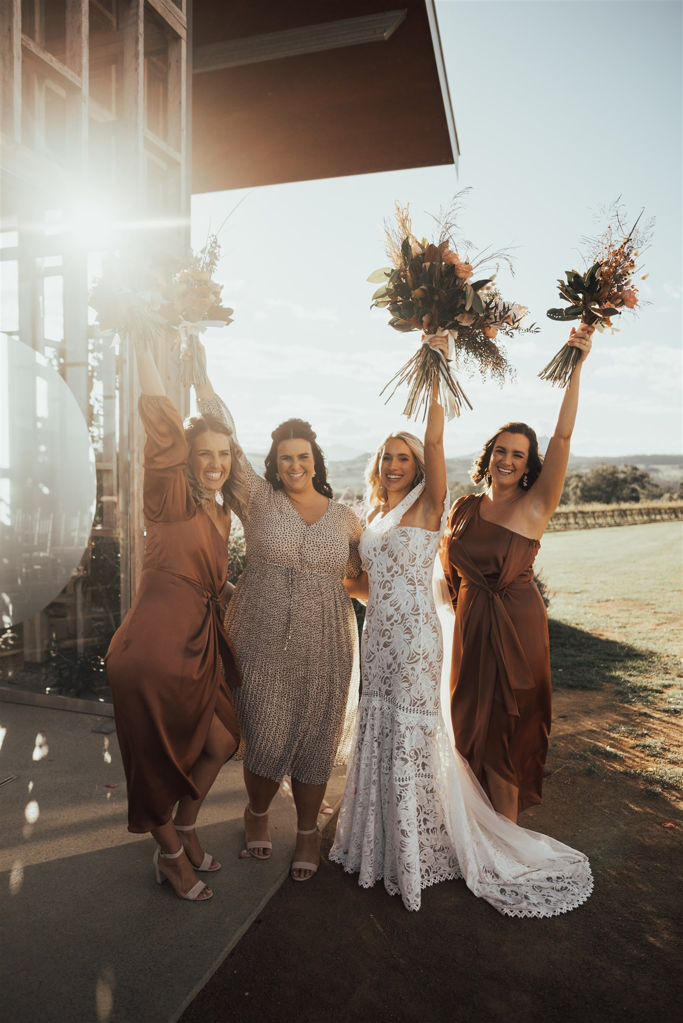 bird and boy photography bridesmaids shona joy witchery