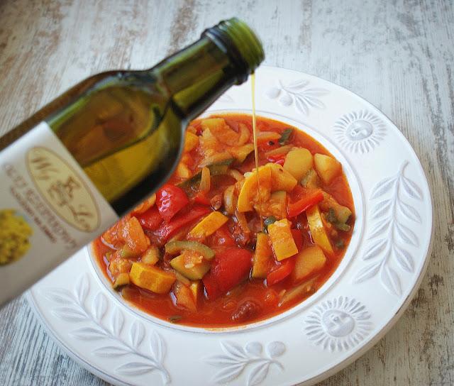 skworcu,woj len,pomidory,dania z pomidorów,leczo,olej rzepakowy,dania z cukinii,dania latwe,domowe obiady,