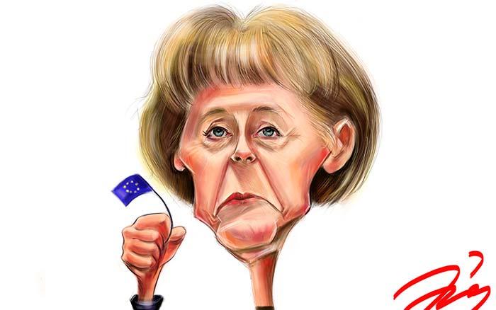 Caricatura de Anamaria Tudorica