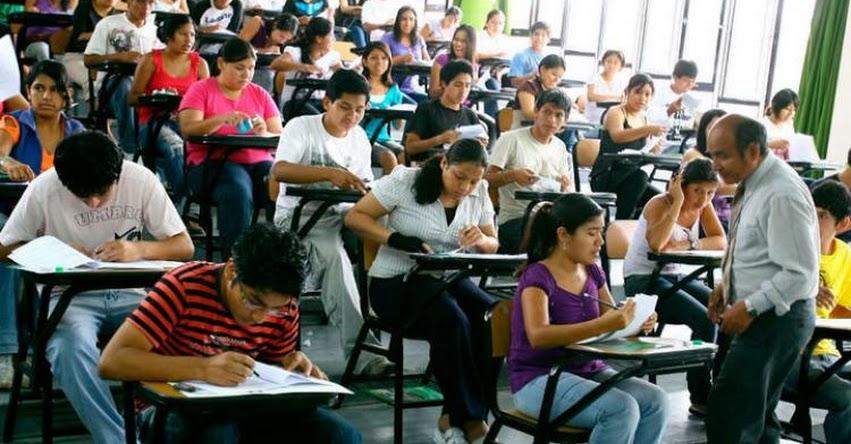 Sepa qué evaluará el Examen Único Nacional para universidades públicas y privadas propuesto por el MINEDU - www.minedu.gob.pe