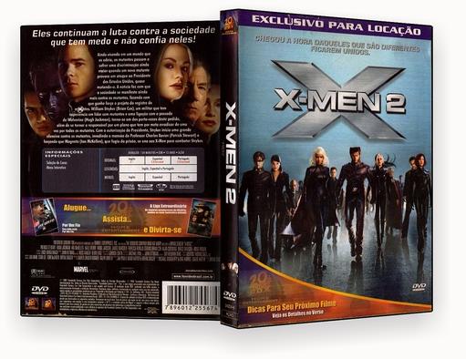 CAPA DVD – X-men 2 – DVD-R