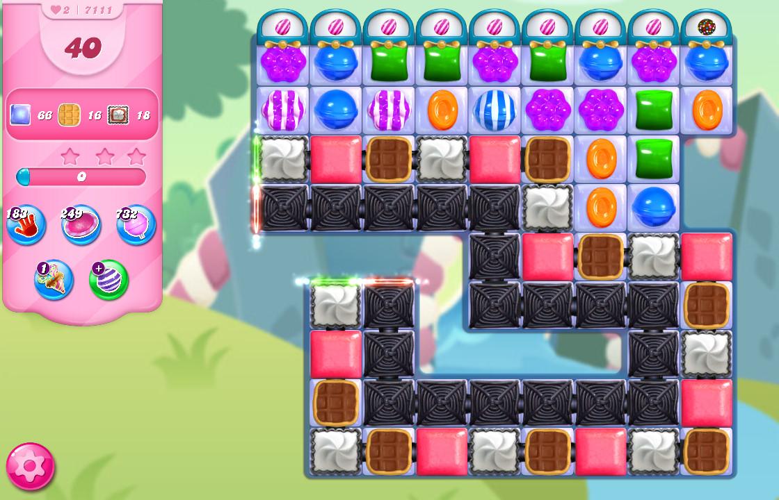 Candy Crush Saga level 7111
