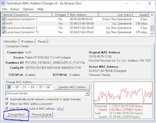 tmac change address Bypass Login Wifi Id Terbaru