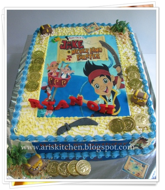 jake and the neverland pirates cake - photo #48