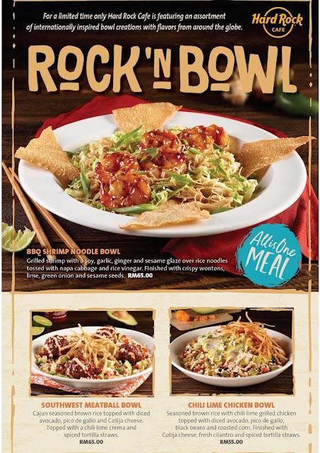 Rock' n Bowls Hard Rock Cafe Kuala Lumpur