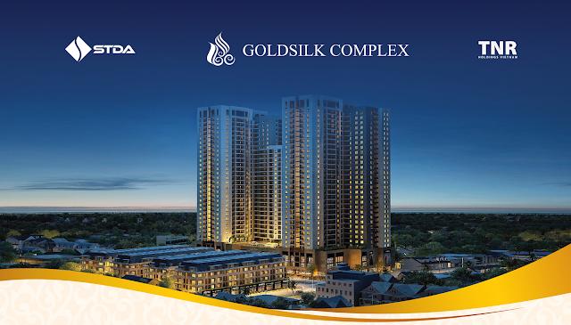 Phối cảnh dự án Goldsilk Complex Vạn Phúc