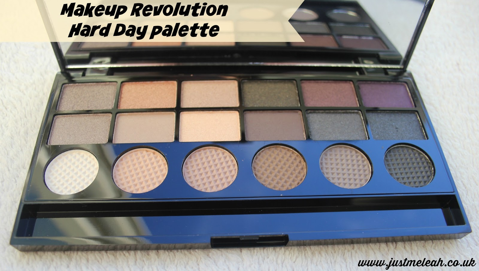 MAKEUP REVOLUTION HARD DAY PALETTE REVIEW