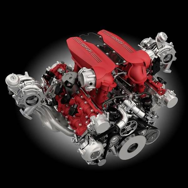 Motor V8 Ferrari 488 GTB Argentina