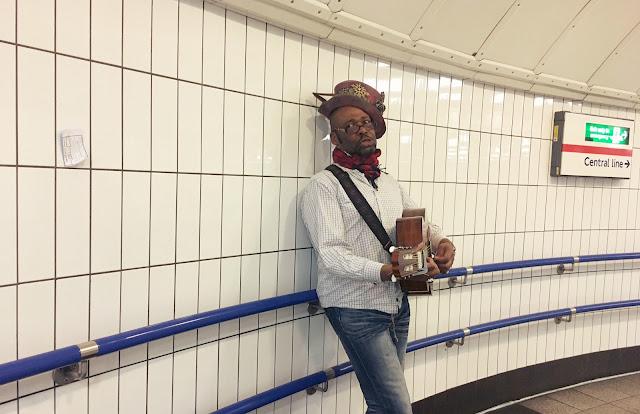 Oxford Street musician