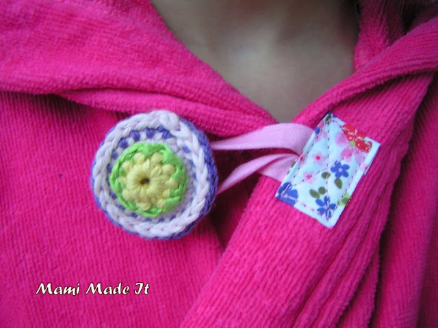 Crochet Button - Häkelknopf
