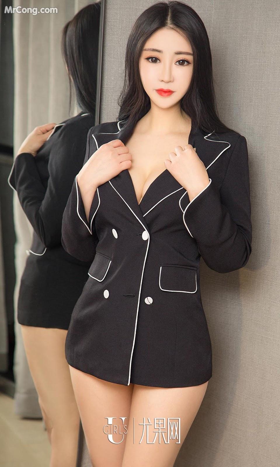 Image UGIRLS-Ai-You-Wu-App-No.963-Zhang-Yang-Yang-MrCong.com-001 in post UGIRLS – Ai You Wu App No.963: Người mẫu Zhang Yang Yang (张阳阳) (40 ảnh)