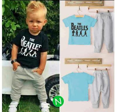 Jual Baju Anak Laki-laki Setelan Beatles (Kids) - 12333