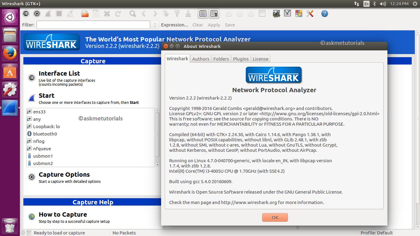 Install Wireshark 2 2 2 in Ubuntu 16 04 LTS & LinuxMint