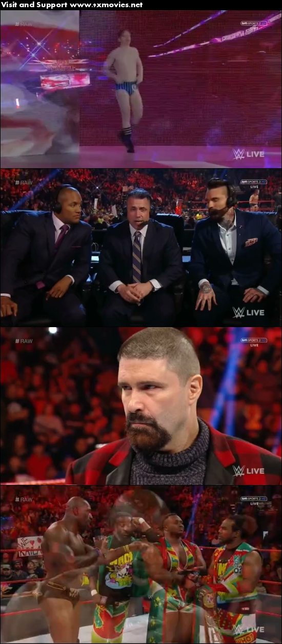 WWE Monday Night Raw 09 Jan 2017 HDTV 480p 500MB