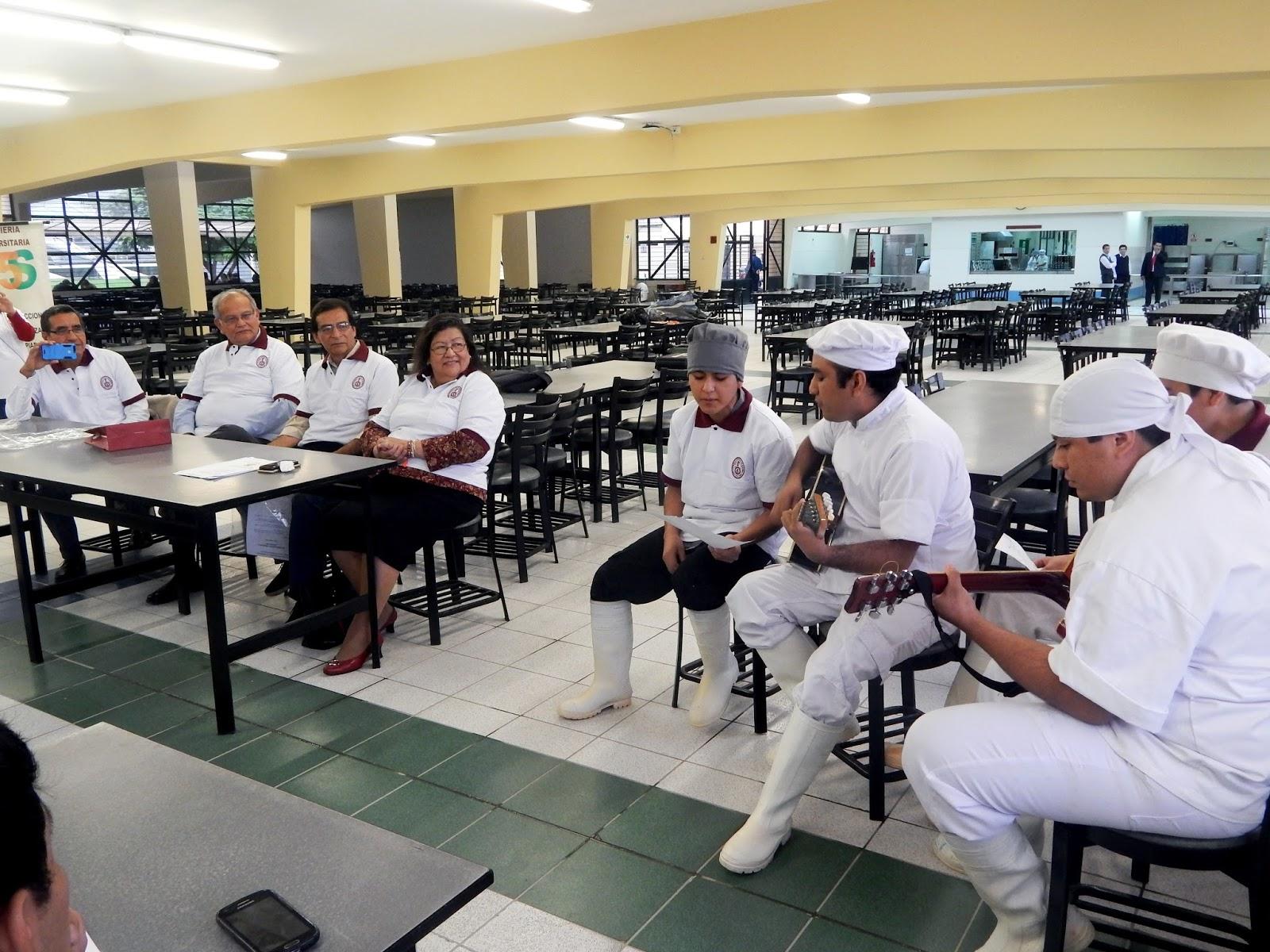 Universidad nacional de ingenier a implementan programa for Comedor universitario
