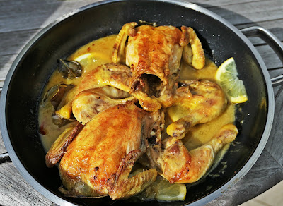 chicken with with kaffir lime leaves