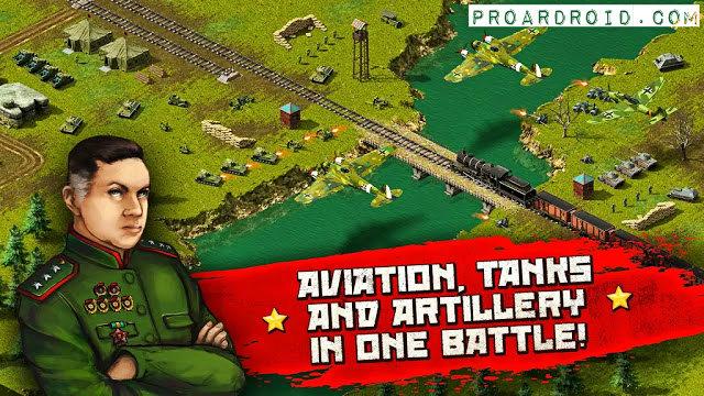 تحميل لعبة الإستراتيجية WW2: real time strategy game! v1.43 كاملة للأندرويد logo