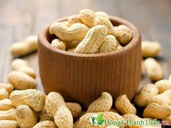 Hạt lạc là cách chữa viêm xoang bằng thuốc nam