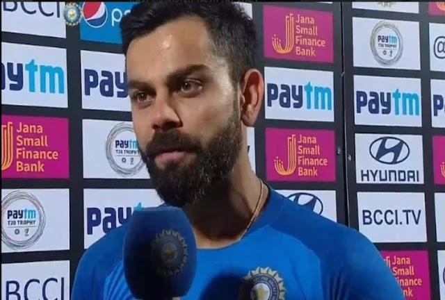 विराट कोहली भारतीय टीम के कप्तान