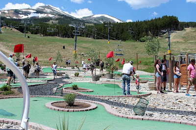 Peak 8 Mini Golf at Breckenridge