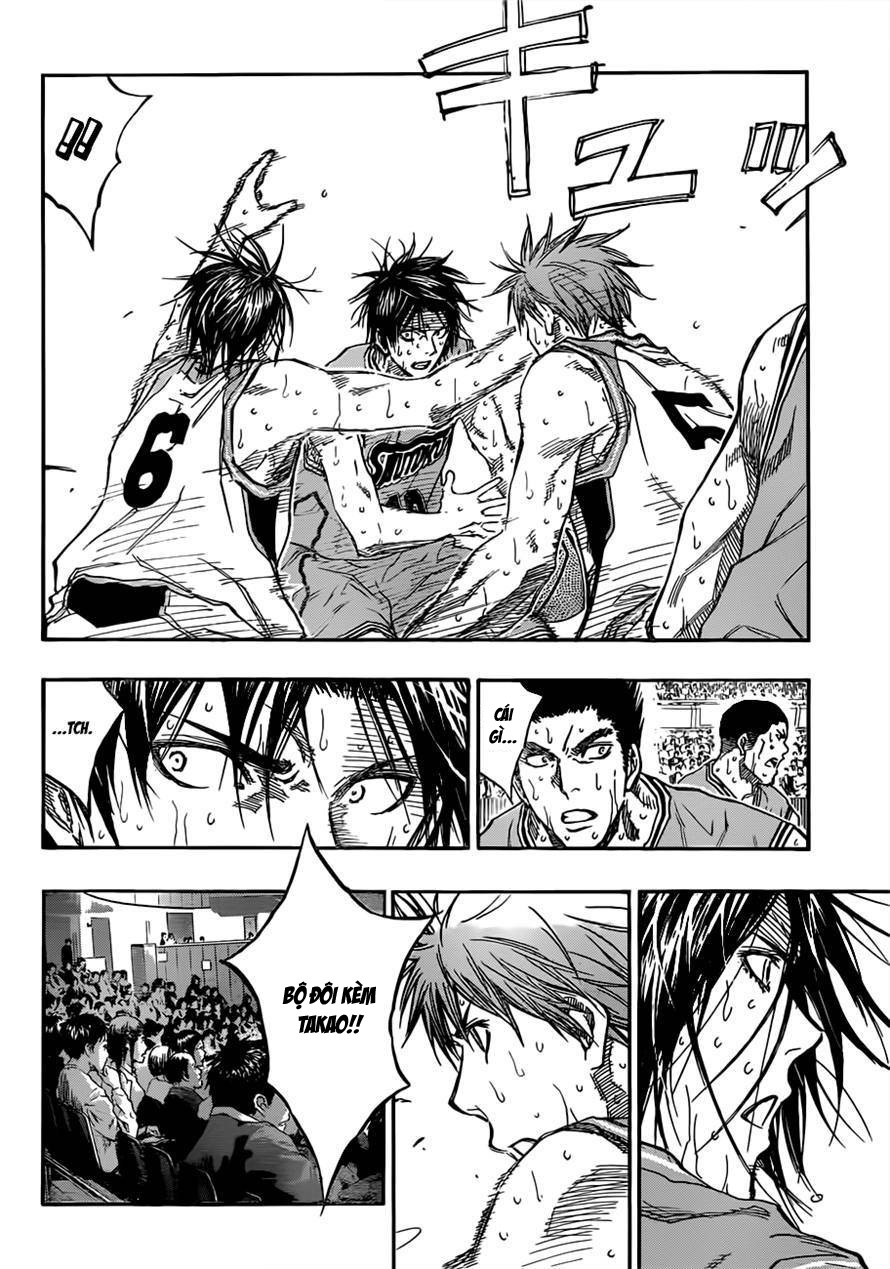 Kuroko No Basket chap 182 trang 4